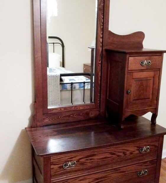 Antique Dresser With Mirror Finish It Custom Carpentry